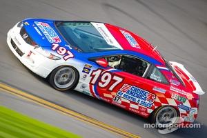 #197 RSR Motorsports Honda Civic SI: Sarah Cattaneo, Tom Dyer, Corey Fergus, Andrew Novich, Owen Trinkler