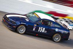 #158 Dempsey Racing Mustang Boss 302R: Ian James, Roger Miller