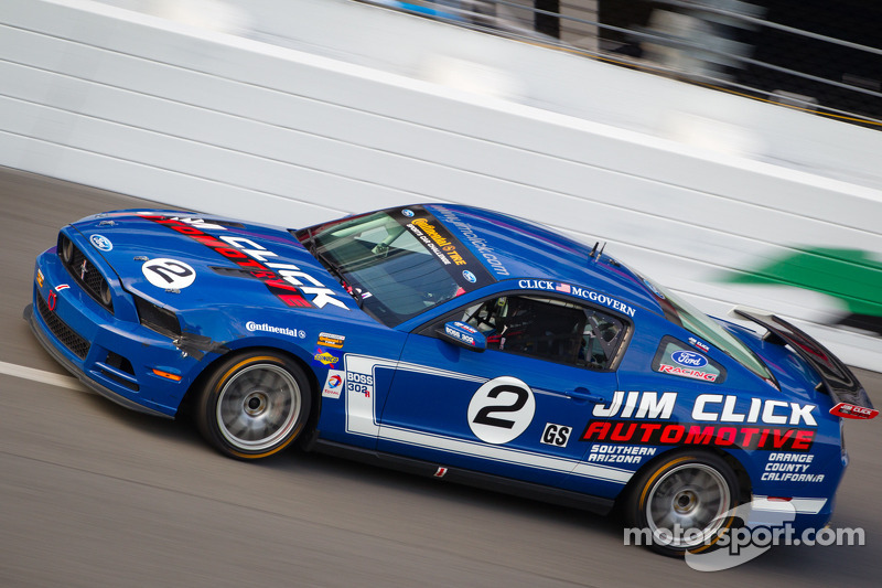 #2 Jim Click Racing Mustang Boss 302R GT: Jim Click, Mike McGovern