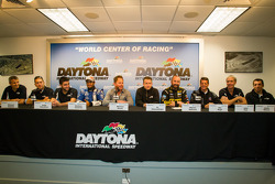 Coletiva da Michael Shank Racing: Chris Cumming, Jorge Goncalves, Michael Valiante, Gustavo Yacaman,