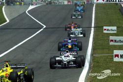 Дженсон Баттон. ГП Испании, Воскресная гонка.