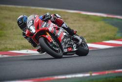 #12 Yoshimura Suzuki Motul Racing: Takuya Tsuda, Sylvain Guintoli, Josh Brookes