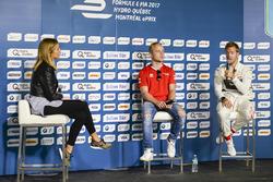 Феликс Розенквист, Mahindra Racing, и Сэм Бёрд, DS Virgin Racing