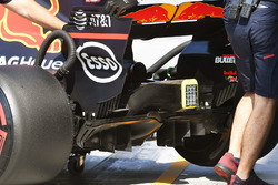 Red Bull Racing RB13 rear diffuser