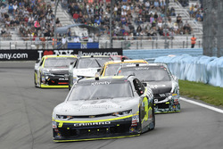 William Byron, JR Motorsports Chevrolet, Casey Mears, Biagi-DenBeste Racing Ford