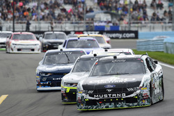 Casey Mears, Biagi-DenBeste Racing Ford, William Byron, JR Motorsports Chevrolet