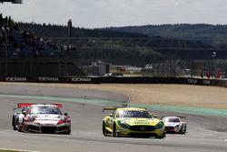 #48 Mercedes-AMG Team HTP Motorsport, Mercedes-AMG GT3: Indy Dontje, Maximilian Buhk