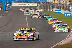 Martin Serrano, Facundo Della Motta, Alonso Etchebest, Coiro Dole Racing Chevrolet, Mathias Nolesi, Lucas Ferreira, Nolesi Competicion Ford