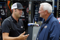 Sam Hornish Jr., Team Penske Ford, Dale Jarrett