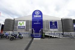 Yamaha Factory Racing hospitality