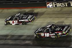 Harrison Burton, Kyle Busch Motorsports Toyota, Noah Gragson, Kyle Busch Motorsports Toyota