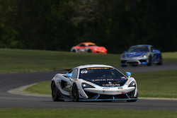 #69 Motorsports In Action McLaren GT4: Jesse Lazare, Chris Green