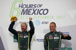 Подиум в GTE Pro: Ники Тим и Марко Сёренсен, Aston Martin Racing