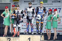 Podium: 1. Markus Reiterberger, BMW S 1000 RR , 2. Danny de Boer, BMW S 1000 RR, 3. Florian Alt, Yamaha YZF-R1M