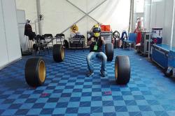 Luca Rangoni aspetta la sua Subaru WRX STI TCR, Top Run Motorsport