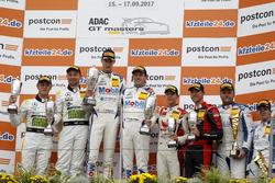 Trophy Podium: 1. #20 Mercedes-AMG Team Zakspeed, Mercedes-AMG GT3: Yelmer Buurman, Nicolai Sylvest, 2. #48 Mercedes-AMG Team HTP Motorsport, Mercedes-AMG GT3: Indy Dontje, Marvin Kirchhöfer, 3. #3 Aust Motorsport, Audi R8 LMS: Kelvin van der Linde, Sheldon van der Linde, #13 RWT Racing, Corvette C7 GT3-R: Sven Barth, Maximilian Hackländer