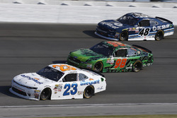 Spencer Gallagher, GMS Racing Chevrolet, Darrell Wallace Jr., Biagi-DenBeste Racing Ford, Brennan Poole, Chip Ganassi Racing Chevrolet