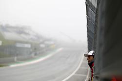 Mike Rockenfeller, Audi Sport Team Phoenix, Audi RS 5 DTM in the fog