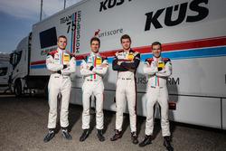 #17 KÜS TEAM75 Bernhard, Porsche 911 GT3 R: Mathieu Jaminet, Michael Ammermüller und #18 KÜS TEAM75 Bernhard, Porsche 911 GT3 R: Adrien de Leener, Christopher Friedrich