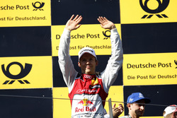 Podium: Race winner Mattias Ekström, Audi Sport Team Abt Sportsline, Audi A5 DTM