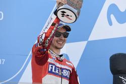 Podium: derde Jorge Lorenzo, Ducati Team