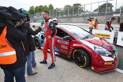 Polesitter Jack Goff, Eurotech Racing Honda Civic Type R