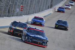 Brennan Poole, Chip Ganassi Racing Chevrolet, Ty Dillon, Richard Childress Racing Chevrolet