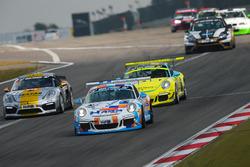 Ulrich Berg, Jean Louis Hertenstein, Jürgen Bleul, Porsche 911 GT3 Cup