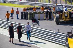 Гонщик Renault e.Dams Себастьен Буэми авария Джеймса Росситера, Venturi Formula E Team