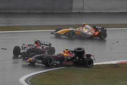 Sebastan Vettel, Toro Rosso STR02, Mark Webber, Red Bull Racing RB3