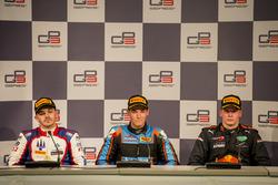 Пресс-конференция: Дориан Бокколаччи, Trident, Алессио Лоранди, Jenzer Motorsport, и Нико Кари, Arden International