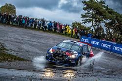 Lopez Pepe, Rozada Borja, Peugeot Rally Academy, Peugeot 208 T16, ERC Junior U28