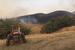 Incendios forestales Sonoma Raceway