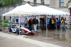EL coche de Graham Rahal, Rahal Letterman Lanigan Racing Honda