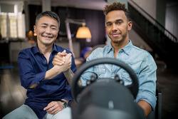 Lewis Hamilton bei Gran Turismo