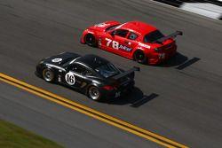 #16 Napleton Racing Porsche Cayman: Nelson Canache, Shane Lewis, David Donohue, Jim Norman - #78 Rac