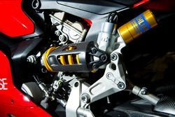 Ohlins Suspension e the clever Firm e Plush registrar flip chip no Ducati 1199 Panigalle R