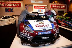 Мадс Остберг. Презентация Qatar M-Sport World Rally Team, особое событие.