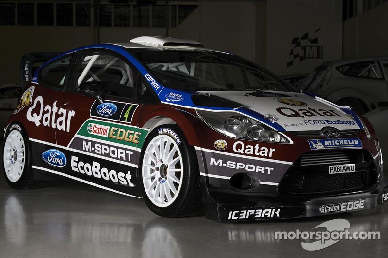 Презентация Qatar M-Sport World Rally Team, особое событие.