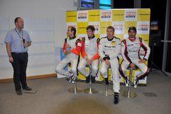 Khaled Al Qubaisi, Bernd Schneider, Jeroen Bleekemolen, Sean Edwards