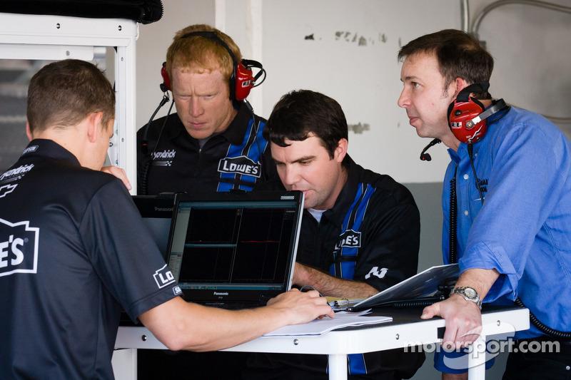 Chad Knaus en Hendrick Motorsports monteurs