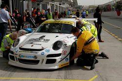 #43 Speedlover Porsche 997 Cup S: Philippe Richard, Philippe Marie, Jean-Michel Gerome