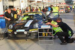 #51 LV Motorsport Porsche 997 Cup: Bashar Mardini, Claus Donnerstag, Thomas Raldolf, Jannik Larsen,