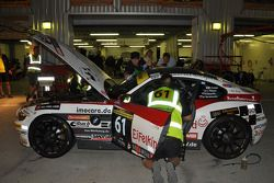 #61 Sorg Rennsport BMW Z4 M Coupe: Paul Follett, Alexey Veremenko, Vasily Gryazin, Johan Rosen