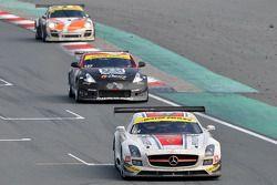 #14 de Lorenzi Racing Mercedes SLS AMG GT3: Gianluca de Lorenzi, Dan Norris-Jones, Olivier Baharian,