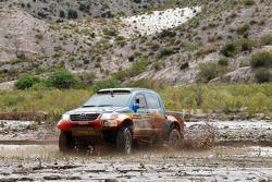 #352 Toyota: Nunzio Coffaro en Daniel Meneses