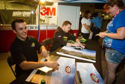 Austin Dillon, Richard Childress Racing Chevrolet and Ricky Stenhouse Jr., Roush Fenway Racing Ford