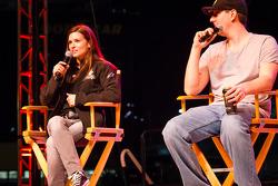 Fan forum: Danica Patrick, Stewart Haas Racing Chevrolet, Kyle Busch, Joe Gibbs Racing Toyota