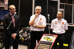 Phill Abbott, Radical MD and Andy Wallace, unveil the all-new Radical RXC