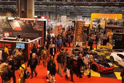 Bezoekers op Autosport International